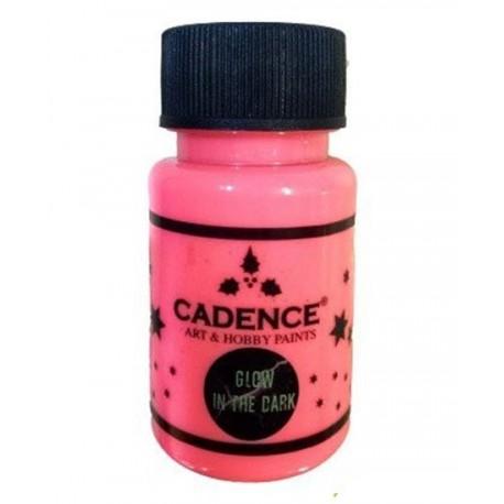 pintura fosforescente rosa de Cadence