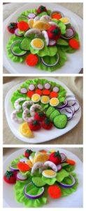 decoraciones infantiles, juguetes de comer