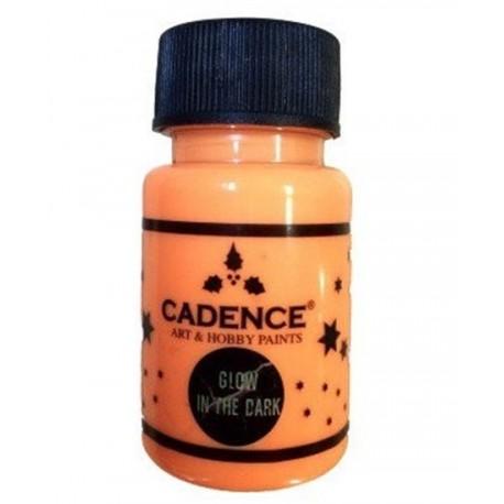 bote de pintura fosforescente naranja