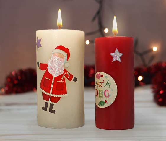 decoupage-velas-navideñas