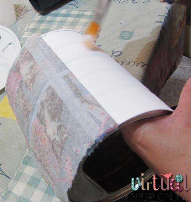 presentamos la servilleta para realizar la técnica de decoupage