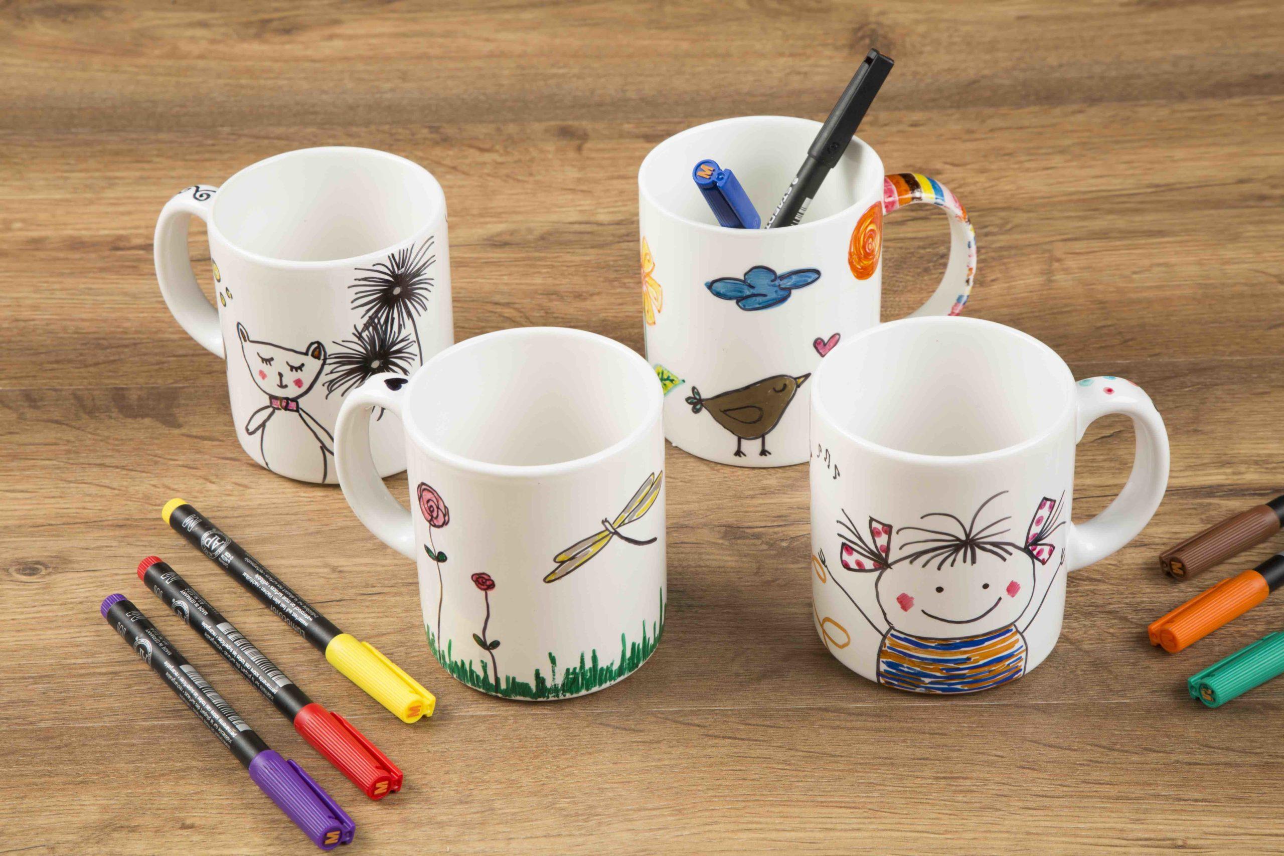 Pintar con rotuladores para cerámica